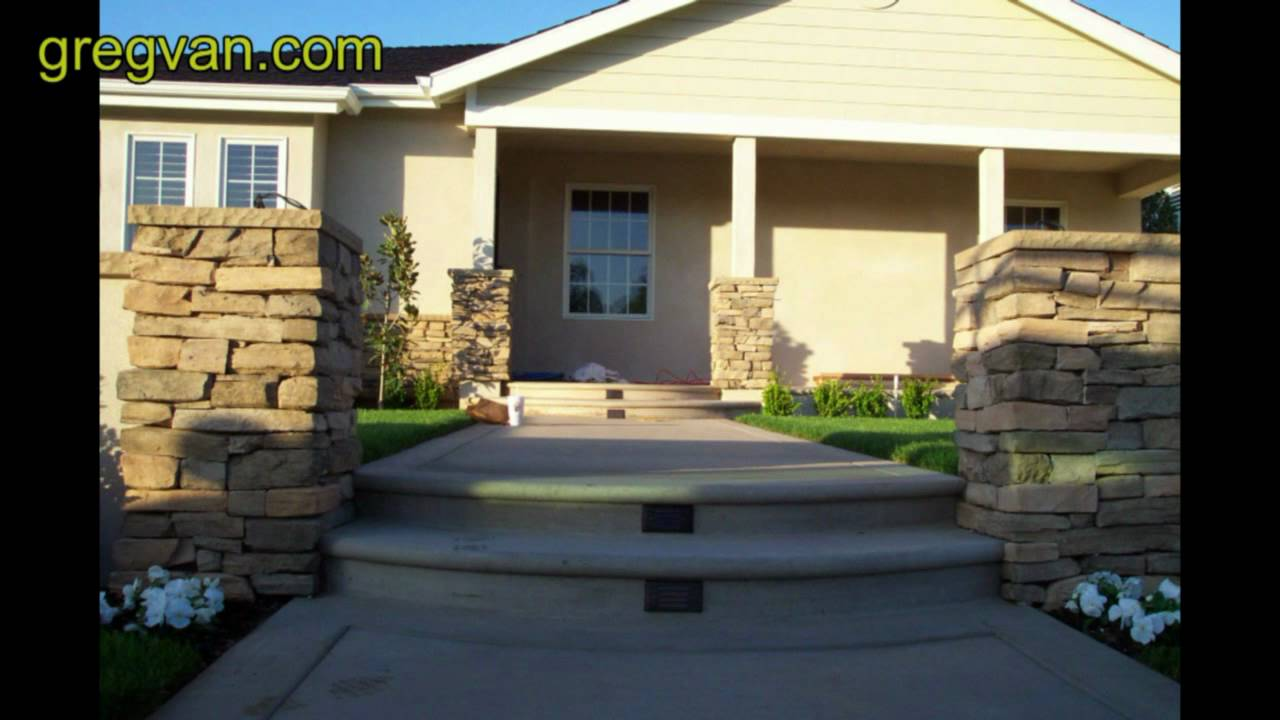 Low Voltage Stair Lighting Tips Exterior Concrete Stair