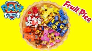 LOL Surprise Doll Help Paw Patrol Learn Colors with Sorting Pie