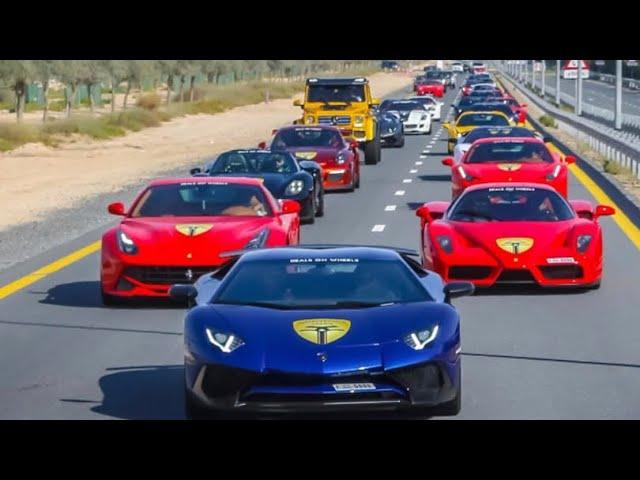 SUPER AUTOS DE LUJO DEL MEDIO ORIENTE  DUBAI!