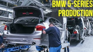 BMW 5-Series F10 Production Dingolfing