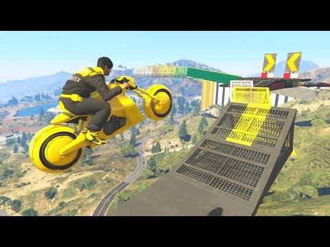 TECHNICAL BIKE RACE! - GTA 5 Funny Moments #725