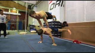 New Year training WORKOUT, PARKOUR
