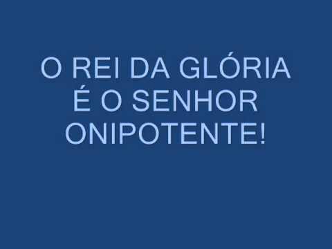 SALMO 23 (24) - O REI DA GLÓRIA É O SENHOR ONIPOTENTE
