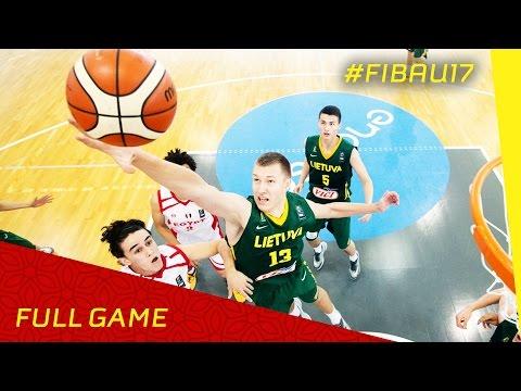 Egypt v Lithuania - R.o.16 - Full Game - FIBA U17 World Championships 2016