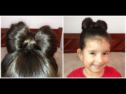 Laço de cabelo fácil e lindo / Penteados