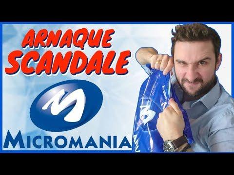 ARNAQUE & SCANDALE chez MICROMANIA ! 😱