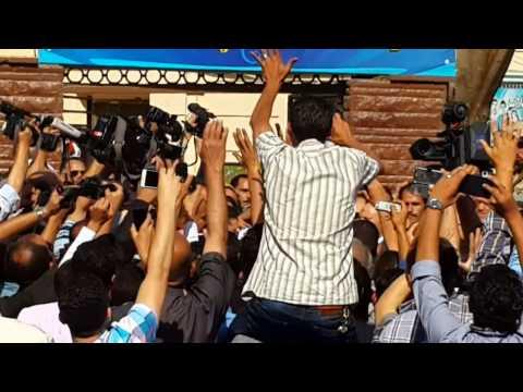 Abdel Fattah El-Sisi votes
