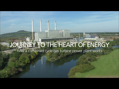 Journey to the heart of Energy - How a combined cycle gas turbine power plant works
