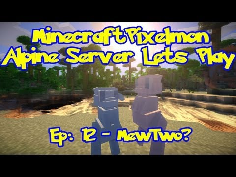 Pixelmon (Pokemon Mod) Server Lets Play - Episode 12. Mew Number two?