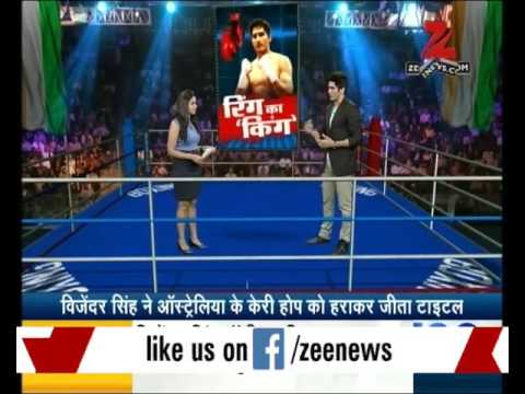 Exclusive conversation with Vijender Singh, WBO Asia Pacific Super Middleweight champion