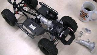 SCX10-2 Scale Driveline Introduction from GCM