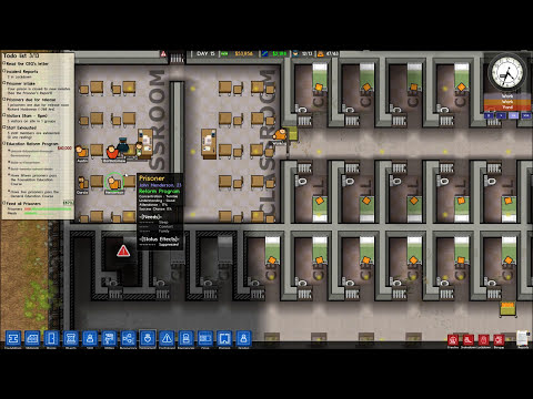 Prison Architect - Episode 14 - Put 'em To Work