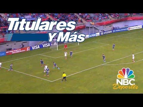 Pierden Argentina y Honduras; empata México | Titulares y Más | NBC Deportes