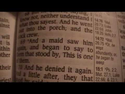 Mark 14 Holy Bible (King James)