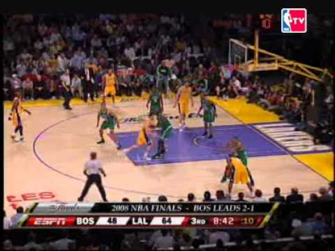 BOS大��LAL  08 NBA FINAL GAME4
