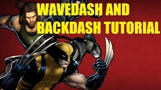 [UMVC3] How To Wavedash And Backdash [TIPS/TUTORIAL]