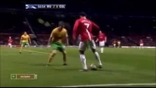 Cristiano Ronaldo skills vs Celtic 08-09