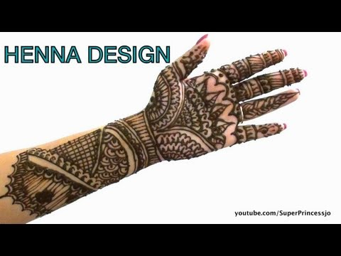 How to Make Henna Mehendi designs Eid Henna design 2013 new henna designs
