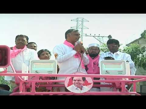 Minister Harish Rao Participates in TRS Janda Panduga at Siddipet || ABN Telugu