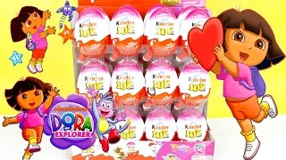 Dora & friends Kinder Joy Edition Unboxing by Boobootv