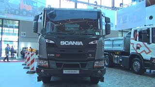 Scania G 480 XT B8x4HZ Tipper Truck (2018) Exterior and Interior