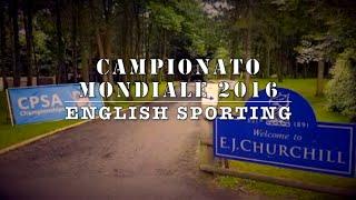 Campionato Mondiale di English Sporting 2016