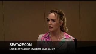 Caity Lotz LEGENDS OF TOMORROW Interview Comic Con HD