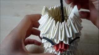 Origami How-to: 3d Origami Moogle