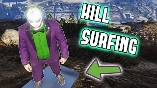 GTA 5 Mods - SURFING MT. CHILIAD - (GTA V PC - Fun With Mods)