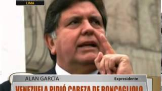 Venezuela Pidi Cabeza De Roncagliolo