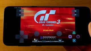 Samsung Galaxy S8 (Exynos) - Gran Turismo 3: A-Spec - Play! PS2 Emulator - Test