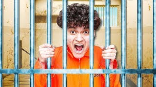 My Little Brother Goes to PRISON for 24 Hours (FaZe Jarvis)