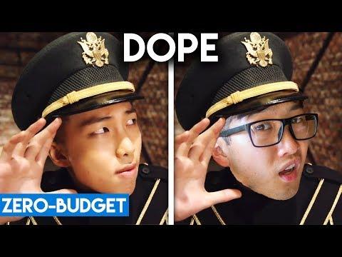 K-POP WITH ZERO BUDGET! (BTS - 'DOPE')