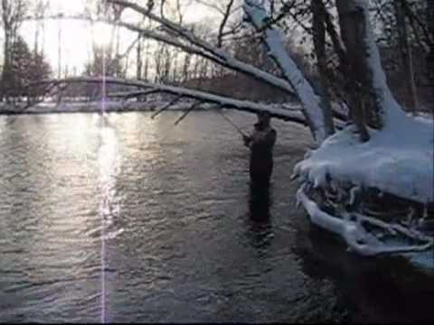 Steelhead Fishing the Salmon River, Pulaski NY.