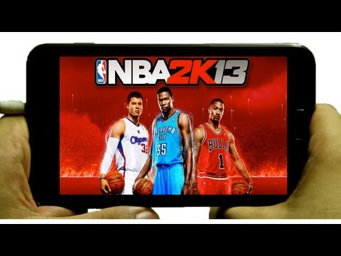 NBA 2K13 On Android Gameplay Samsung Galaxy Note 2 2K Games