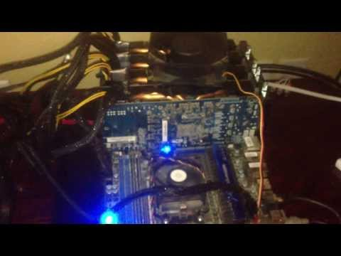1.2GHash/s GPU Bitcoin and Litecoin Mining Rig