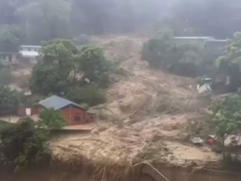 Typhoon Soudelor Hits Taiwan