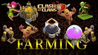 CLASH OF CLANS - Time Farming Arqueras Barbaros y Duendes