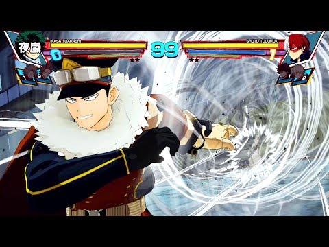 My Hero Academia: One's Justice - Inasa Yoarashi DLC Gameplay! (1080p 60fps)