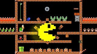 Pacman could EASILY complete Mario Maze