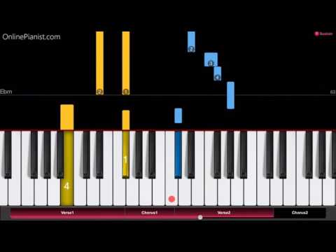 Jonas Blue - By Your Side ft. Raye - EASY Piano Tutorial - How to play By Your Side
