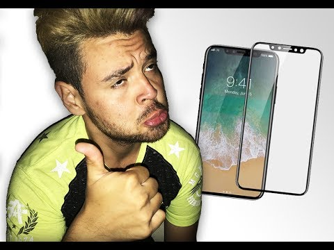 PANTALLA DE IPHONE 8 MOSTRADA EN VIDEO