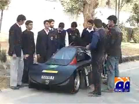 Pakistan First self made Hybrid Car