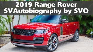 2019 Range Rover SVAutobiography by SVO - Complete Walkaround & Features Tour