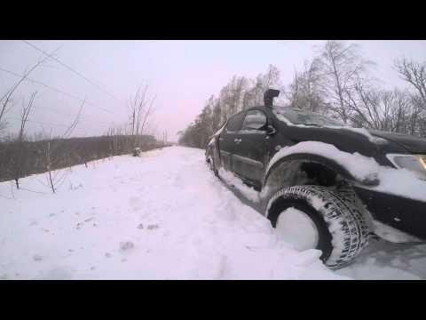 Часть 1 Самара Дорога любви Снег Много