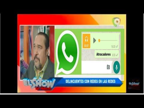 Atracadores con Grupo de Whatsapp envian mensajes de voz para coordinar atracos