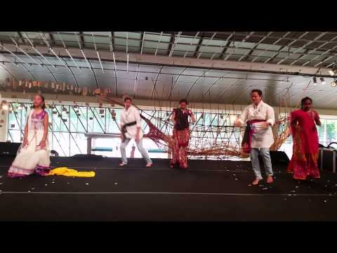 MMS Dance at Esplanade - Holi Ki Shaam 2015