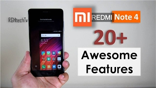 20+ Awesome Features of Xiaomi Redmi Note 4