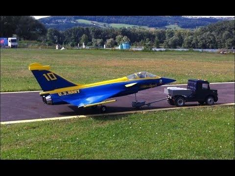 RC-Jet Rafale, Perfect Start And Landing