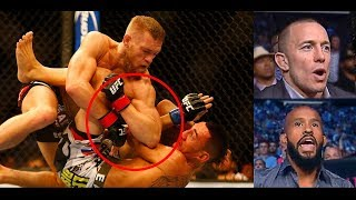 Pro Fighters react to Conor McGregor's IMPRESSIVE ground game